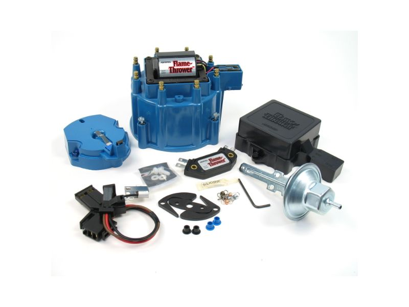 PerTronix D8002 Flame-Thrower GM HEI Tune Up Kit Blue Cap Chevrolet | Cadillac