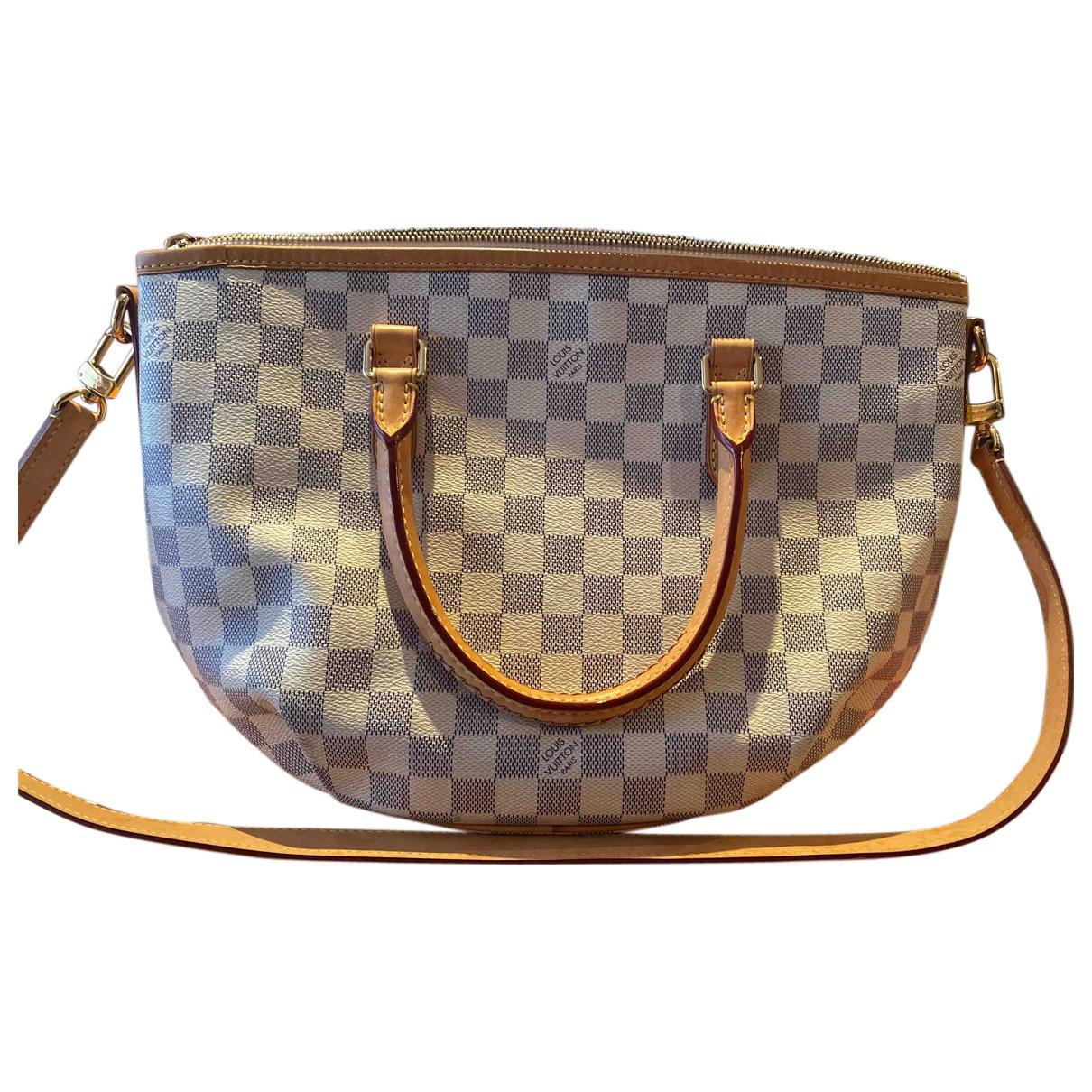 Louis Vuitton Riviera  White Cloth handbag for Women \N