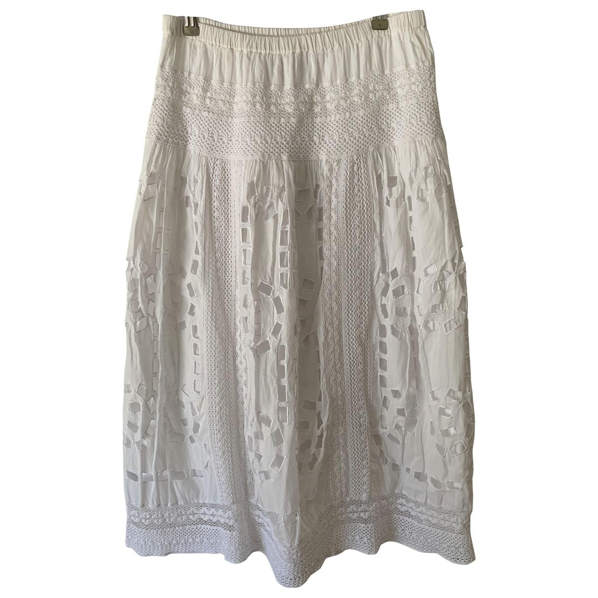 Michael Kors - Jupe   pour femme en coton - blanc