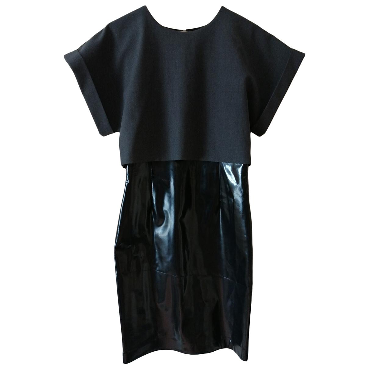 Msgm \N Kleid in  Grau Polyester