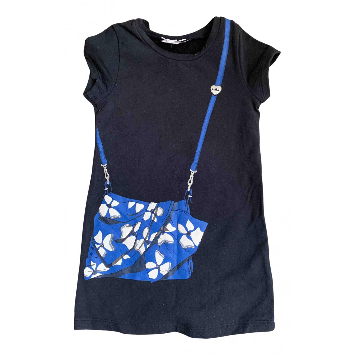 Little Marc Jacobs \N Kleid in  Blau Baumwolle