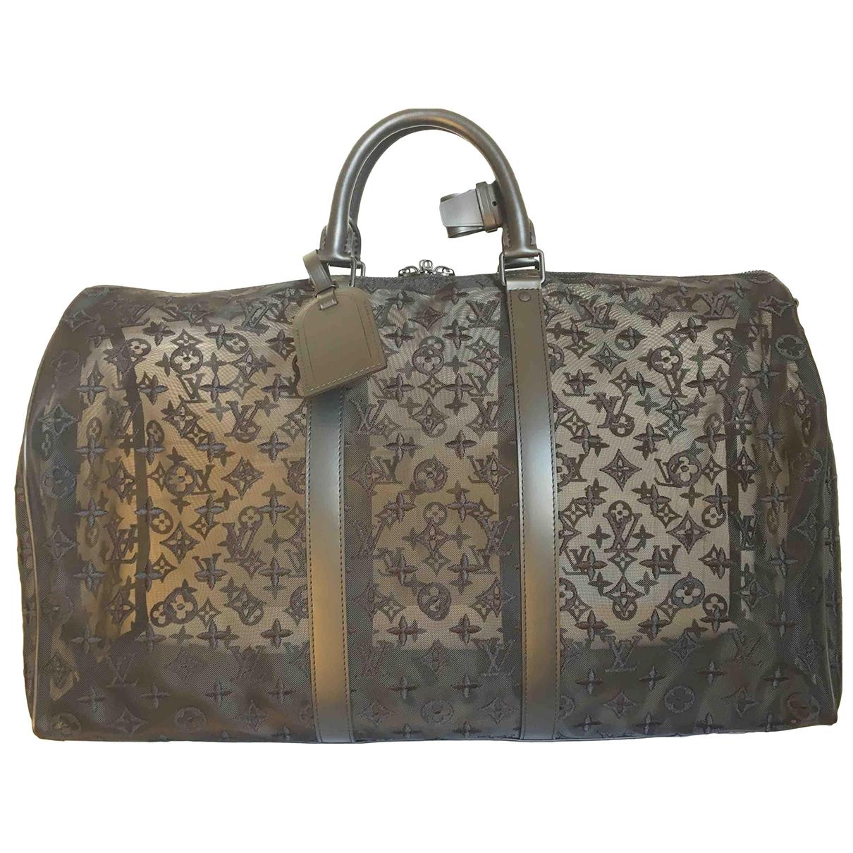Louis Vuitton Keepall Black bag for Men \N