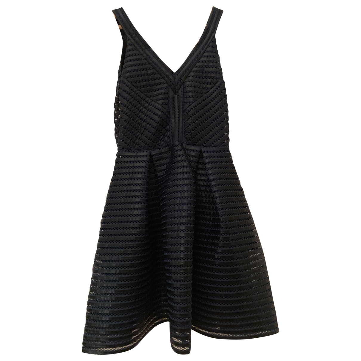 Maje \N Blue Cotton dress for Women 12 UK