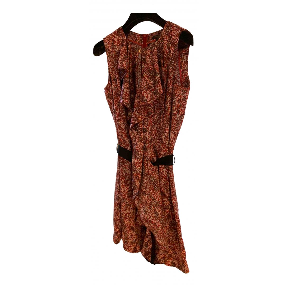 Louis Vuitton \N Kleid in  Bunt Seide