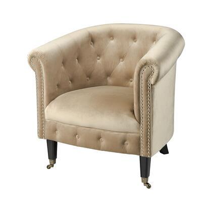 1204-021 Delilah Chair  In Black