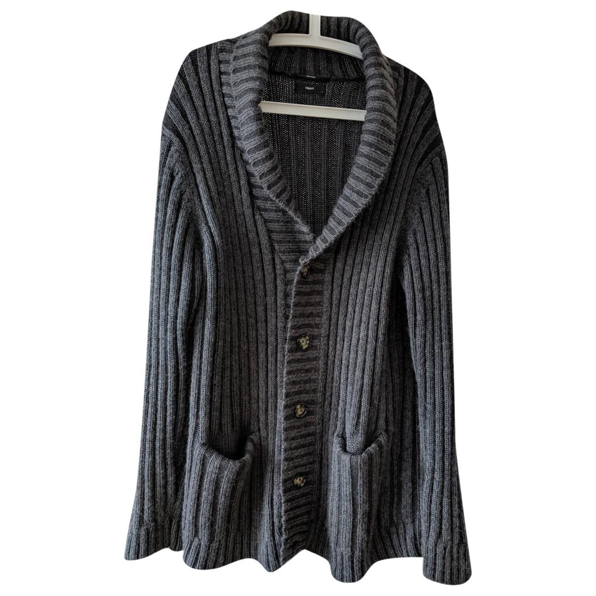 Filippa K \N Pullover.Westen.Sweatshirts  in  Grau Baumwolle