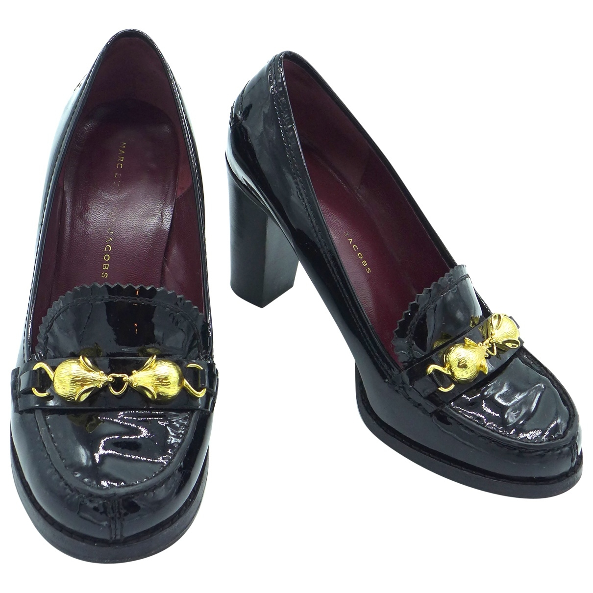 Marc By Marc Jacobs \N Black Patent leather Heels for Women 37 EU