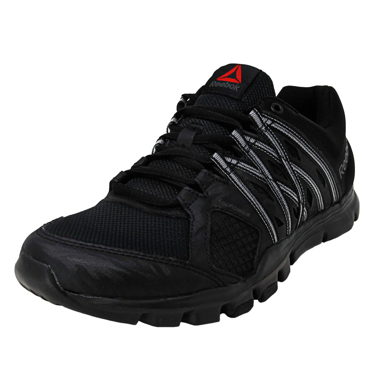 Reebok Men's Yourflex Train 8.0 Black / Ash Grey Ankle-High Training Shoes - 8.5M