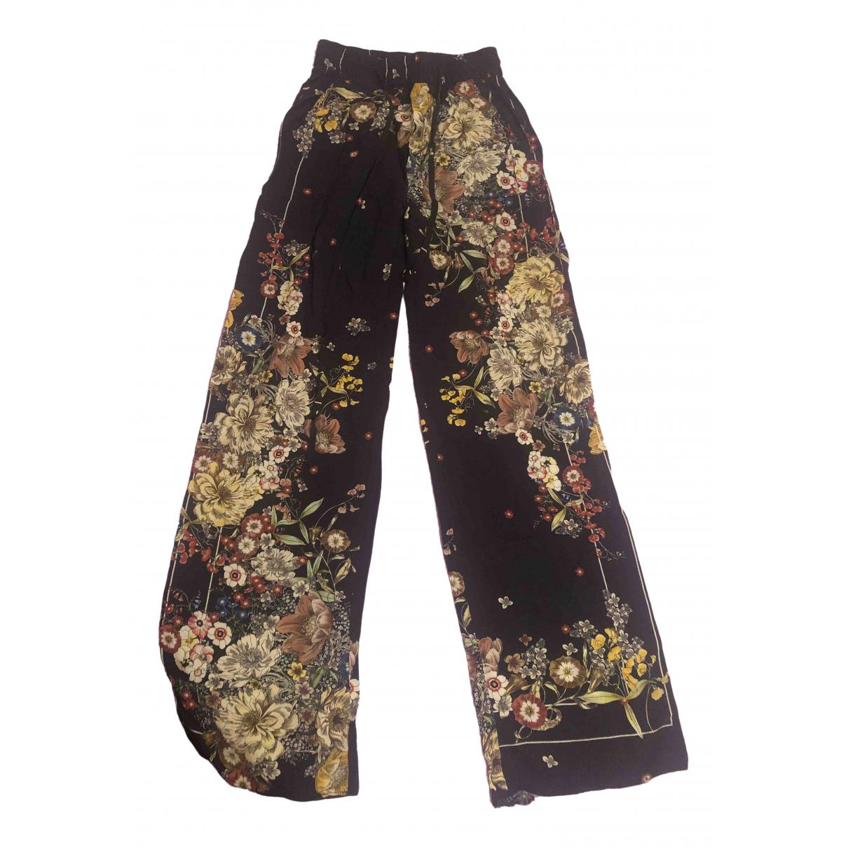 Zara \N Blue Trousers for Women S International