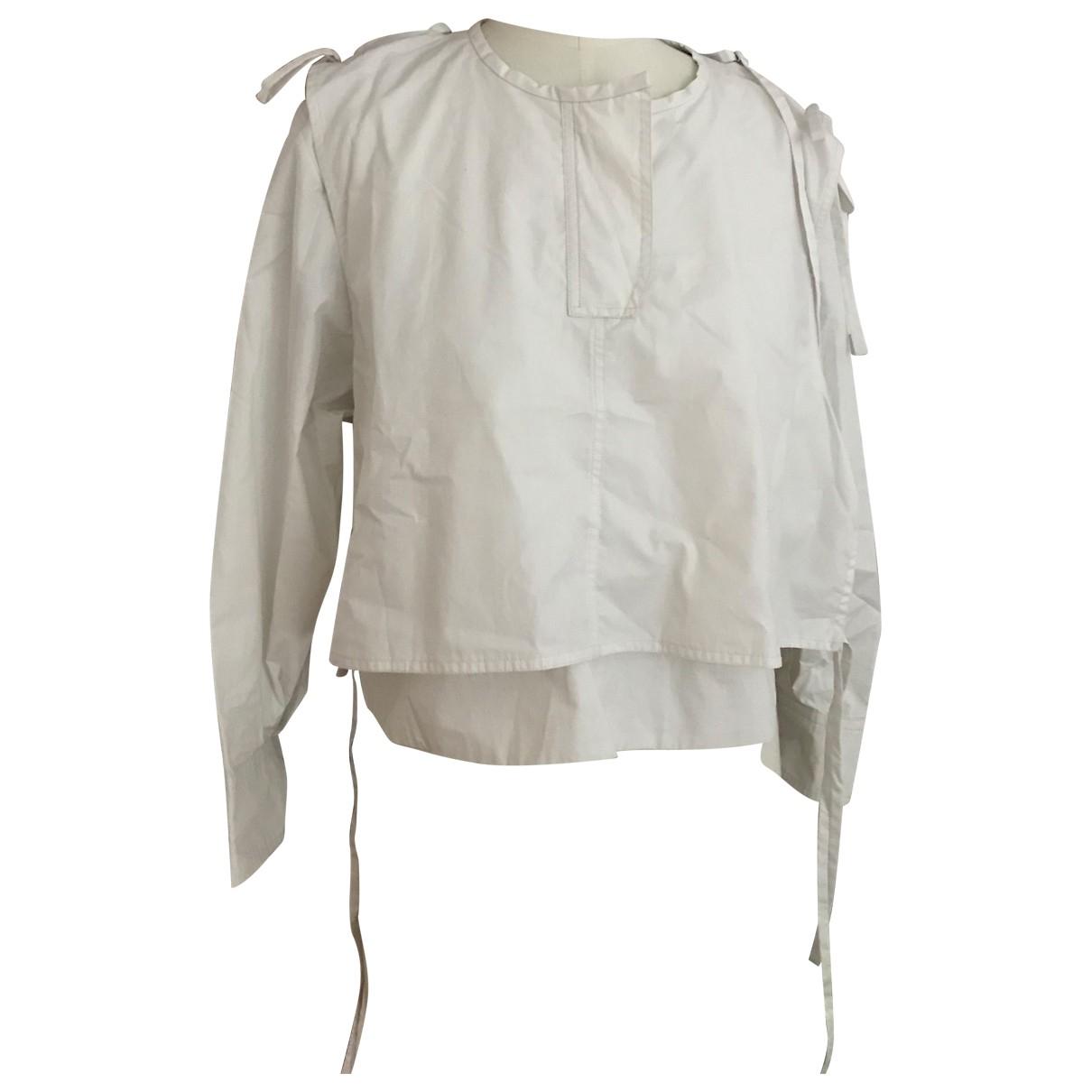 Isabel Marant N White Cotton  top for Women 40 FR