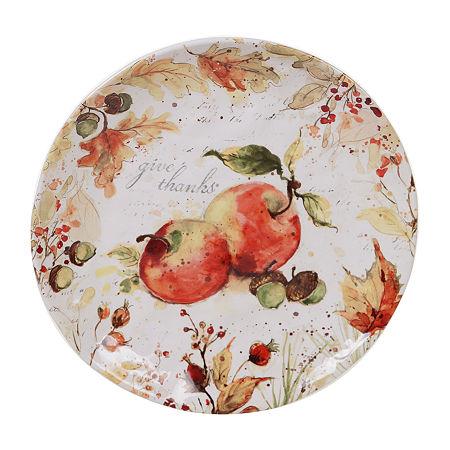 Certified International Harvest Splash Serving Platter, One Size , Multiple Colors