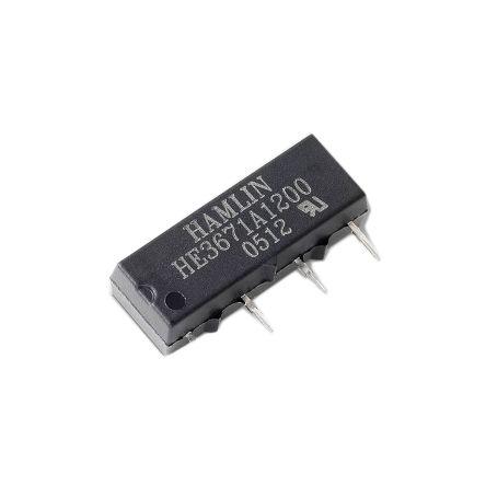 Hamlin Reed relay Miniature 24V SIL PCB Diode (5)