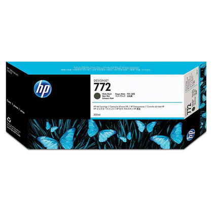 HP 772 CN635A cartouche d'encre originale noire mate extra haute capacité