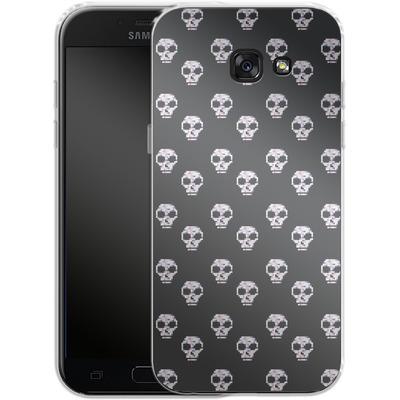 Samsung Galaxy A5 (2017) Silikon Handyhuelle - Digital Skulls von caseable Designs