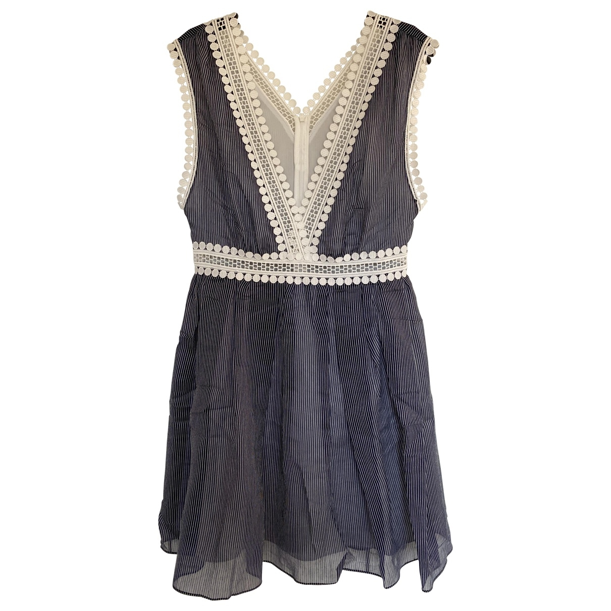 Sandro \N Blue dress for Women 36 FR