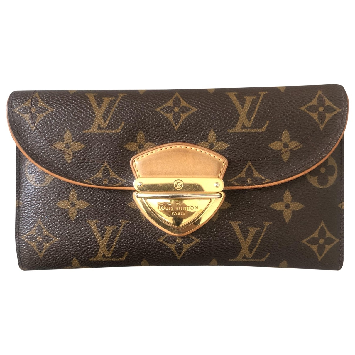 Louis Vuitton Eugénie Brown Cloth wallet for Women \N