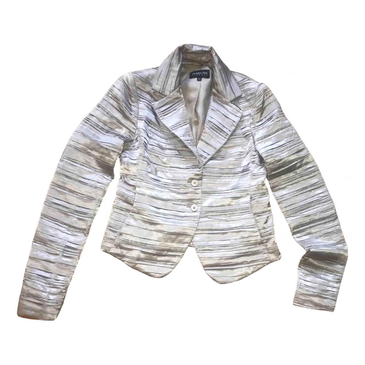Patrizia Pepe N Beige jacket for Women 42 IT