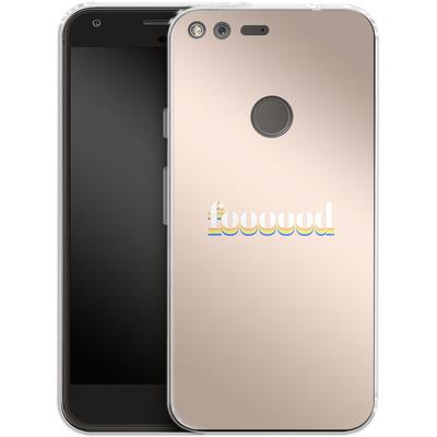 Google Pixel XL Silikon Handyhuelle - foooood von #basic