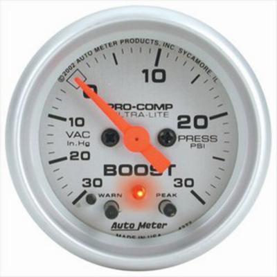 Auto Meter Ultra-Lite Electric Boost/Vacuum Gauge - 4377
