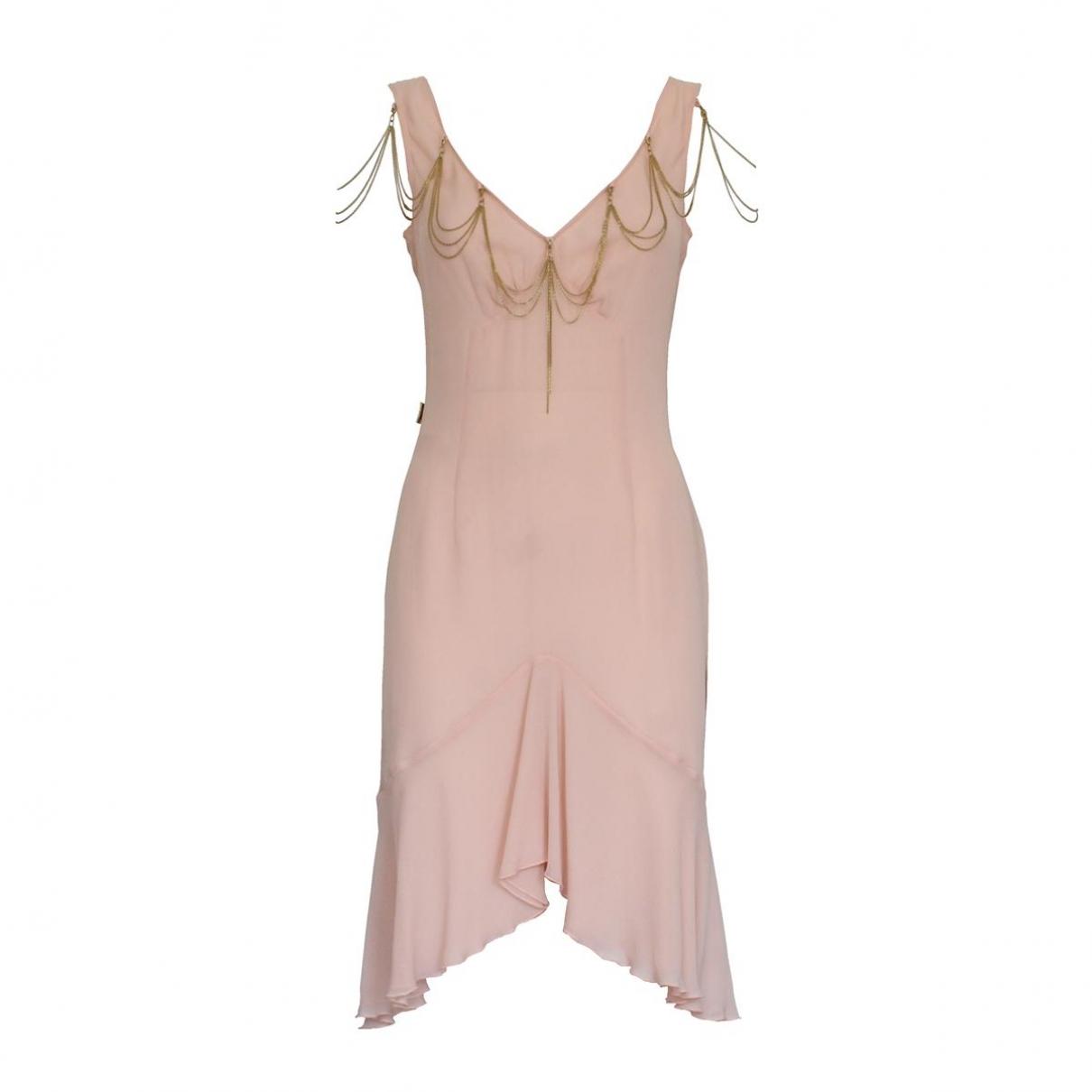 Moschino \N Kleid in  Rosa Seide