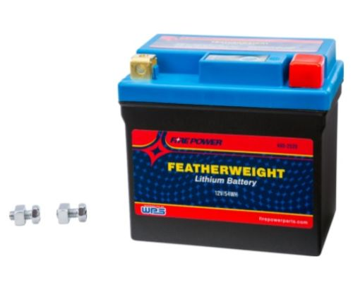 Fire Power Parts 490-2529 Featherweight Lithium Battery 240cca Hjtz7s-Fpp-Il 12v/54wh
