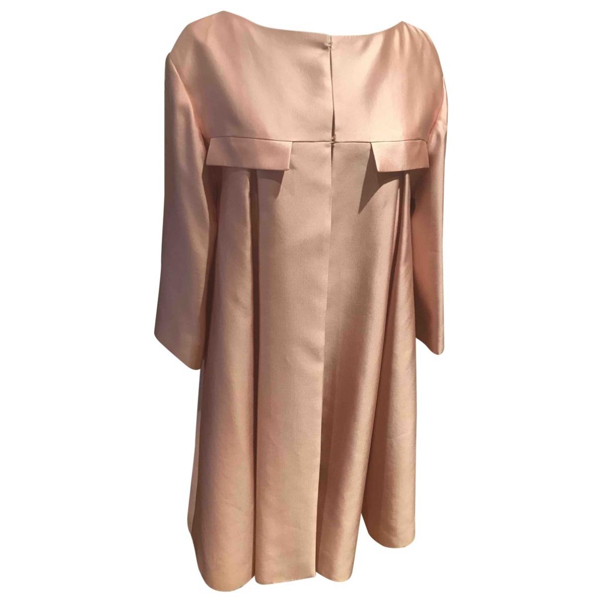 Dior \N Pink Silk coat for Women 42 FR