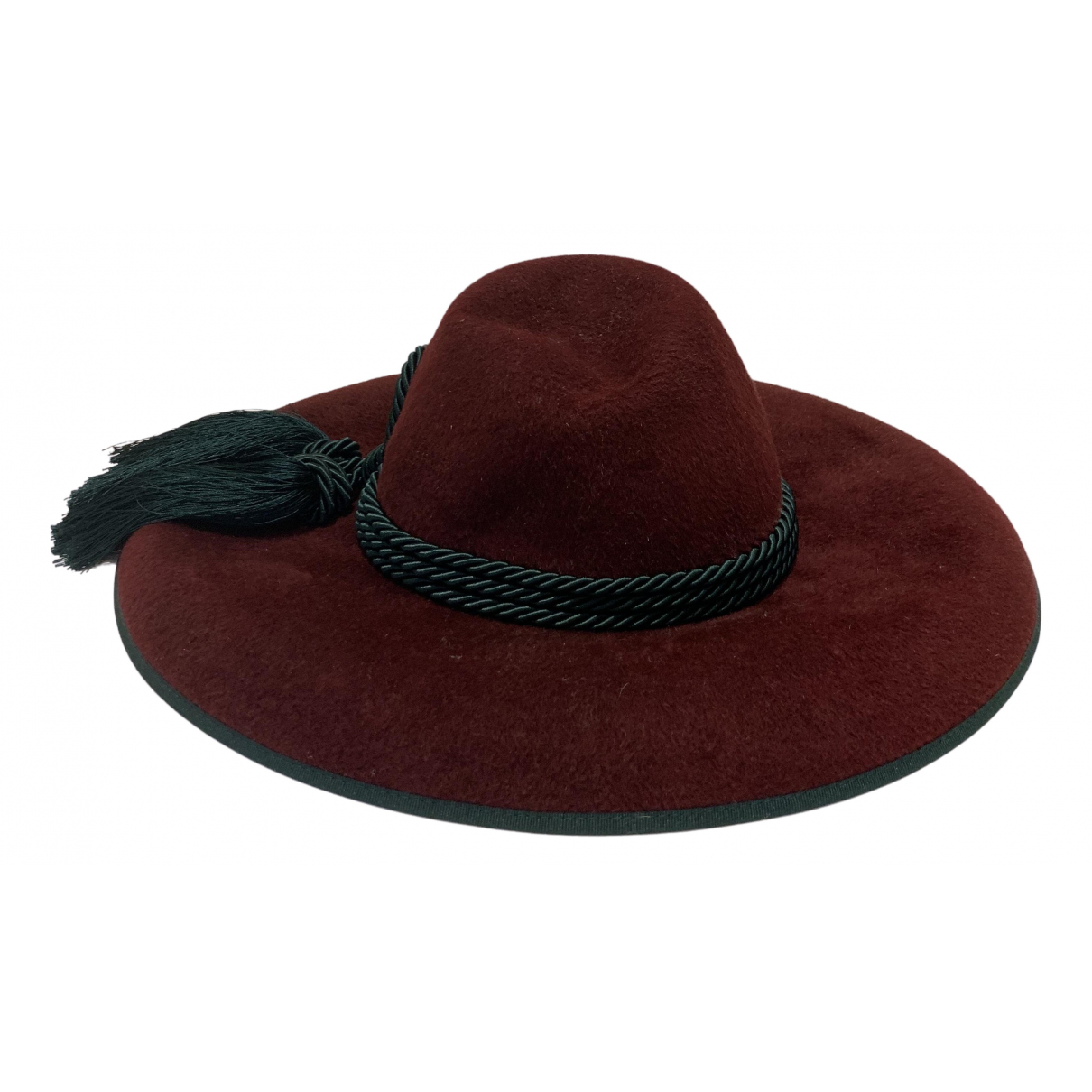 Gucci \N Burgundy Wool hat for Women 56 cm