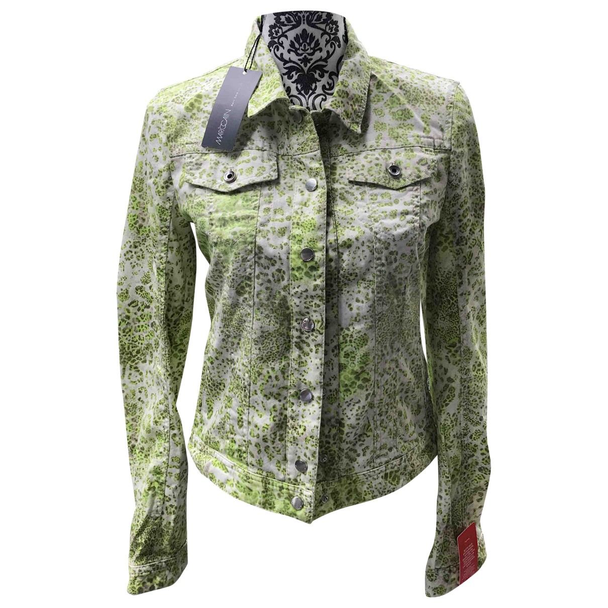 Marc Cain \N Green Cotton jacket for Women S International