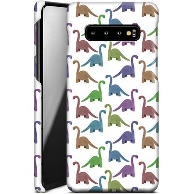 Samsung Galaxy S10 Plus Smartphone Huelle - Cute Dinosaurs von Becky Starsmore