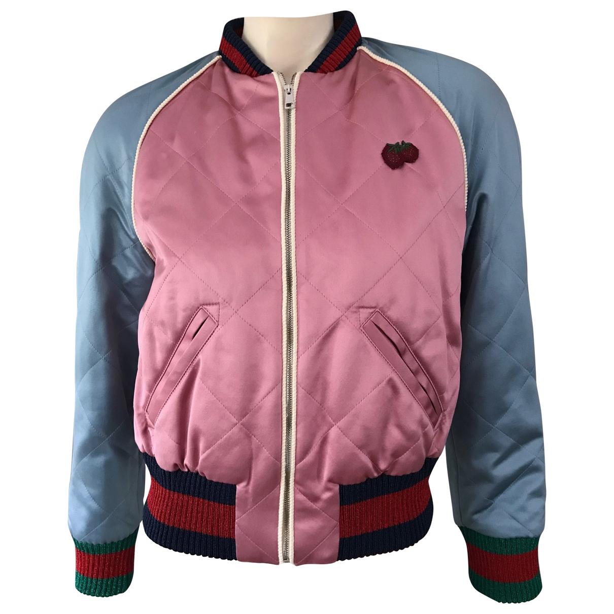 Gucci - Veste   pour femme en soie - rose