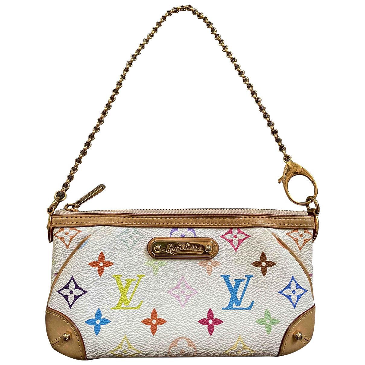 Louis Vuitton Milla White Cloth Clutch bag for Women \N