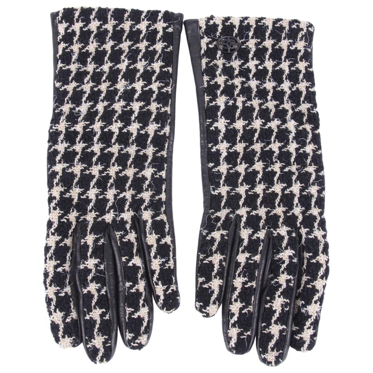 Chanel \N Handschuhe in  Schwarz Tweed