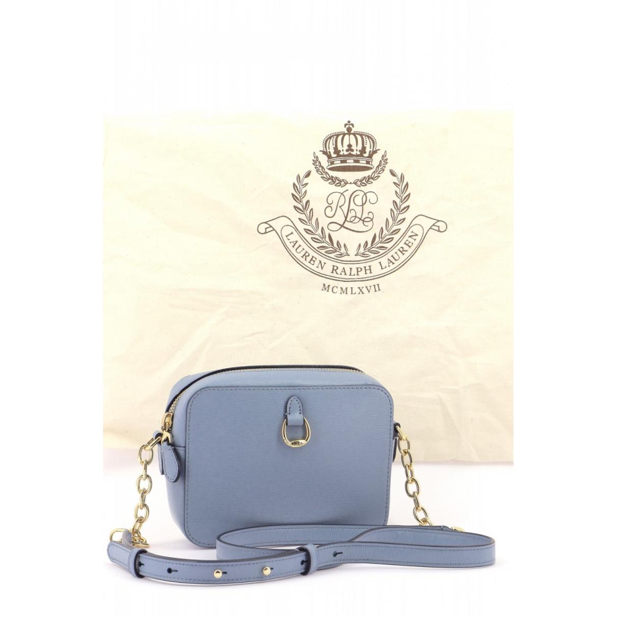 Ralph Lauren \N Blue Leather handbag for Women \N