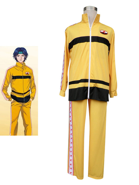 Milanoo Prince Of Tennis Rikkaidai Tennis Uniform For Winter Cosplay Costume
