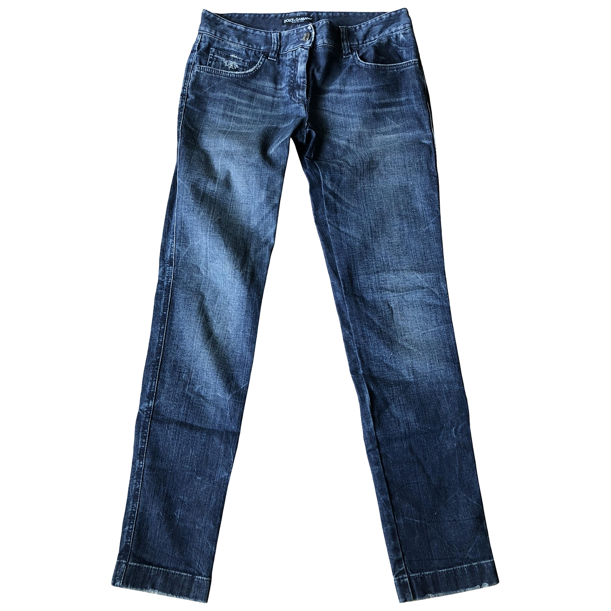 Dolce & Gabbana \N Blue Cotton Jeans for Women 36 FR