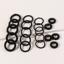 10pcs Telephone Wire Hair Tie