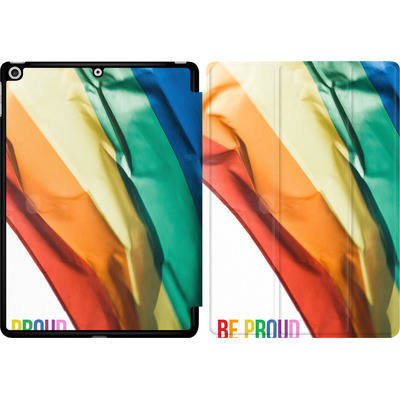 Apple iPad 9.7 (2017) Tablet Smart Case - Rainbow Flag  von caseable Designs
