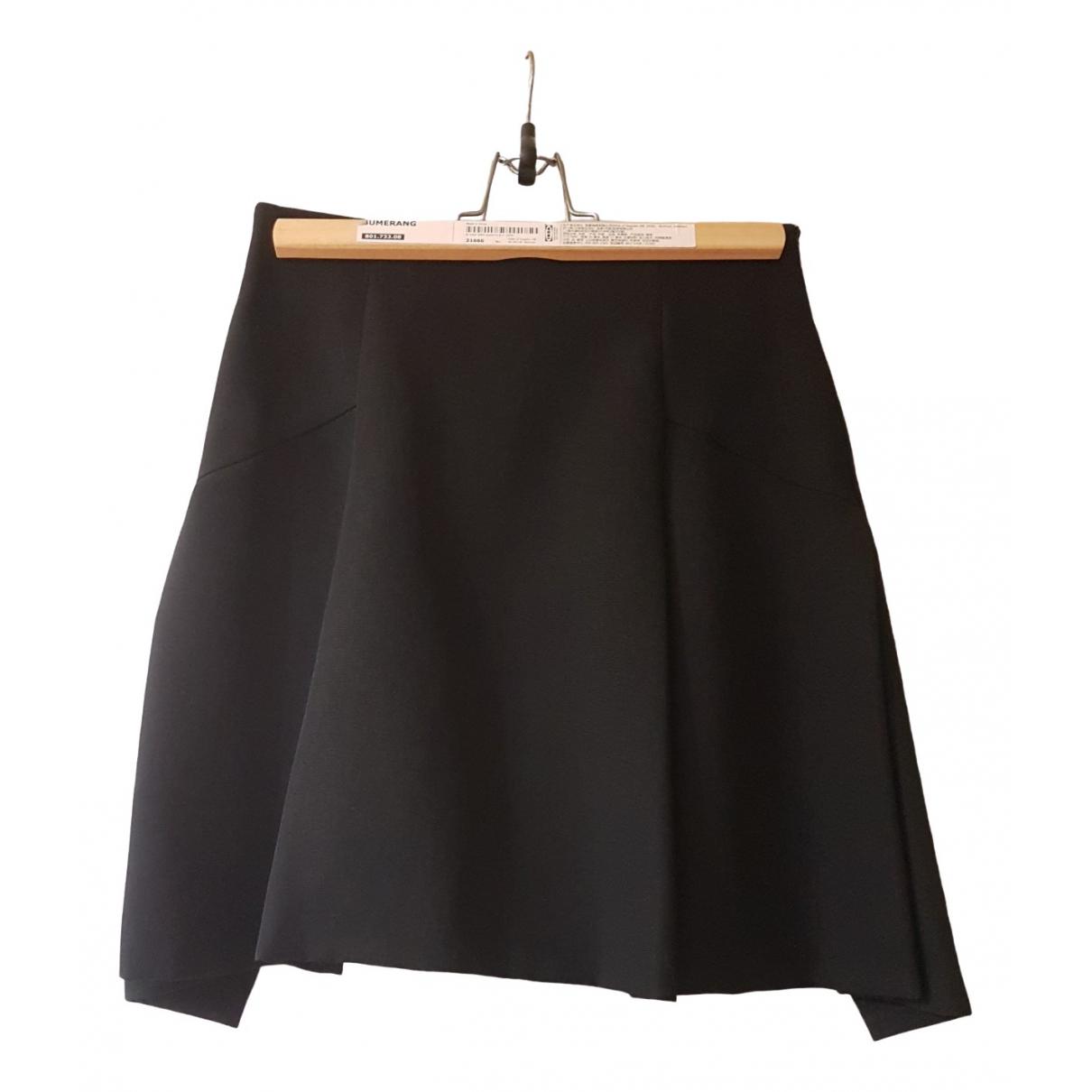 Giuliano Fujiwara - Jupe   pour femme en lin - noir