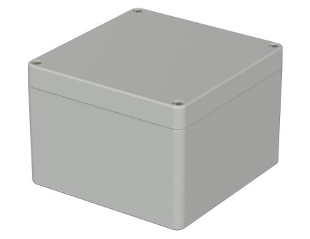 Bopla Euromas, Light Grey Polycarbonate Enclosure, IP65, Flanged, 122 x 120 x 85mm