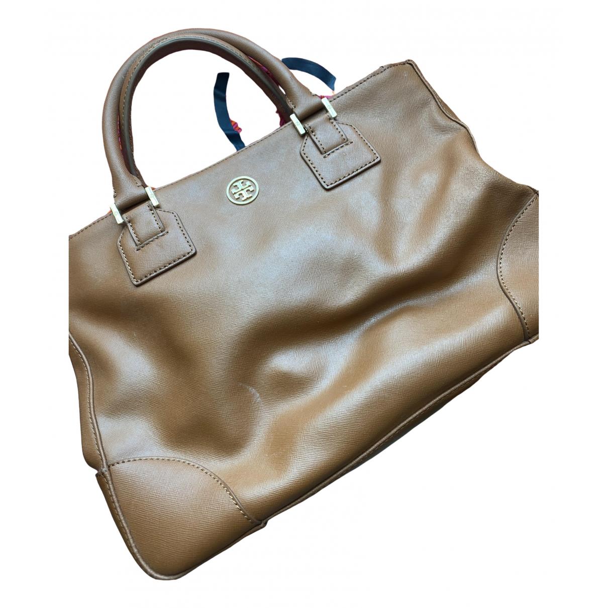 Tory Burch \N Brown Leather handbag for Women \N