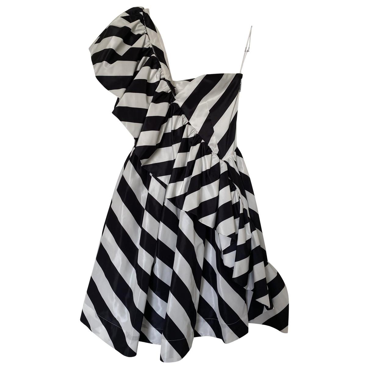 Msgm \N Kleid in  Bunt Polyester