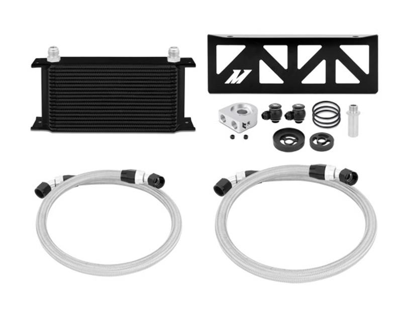 Mishimoto MMOC-BRZ-13BK Black Oil Cooler Kit Toyota GT-86 2.0L 13-14
