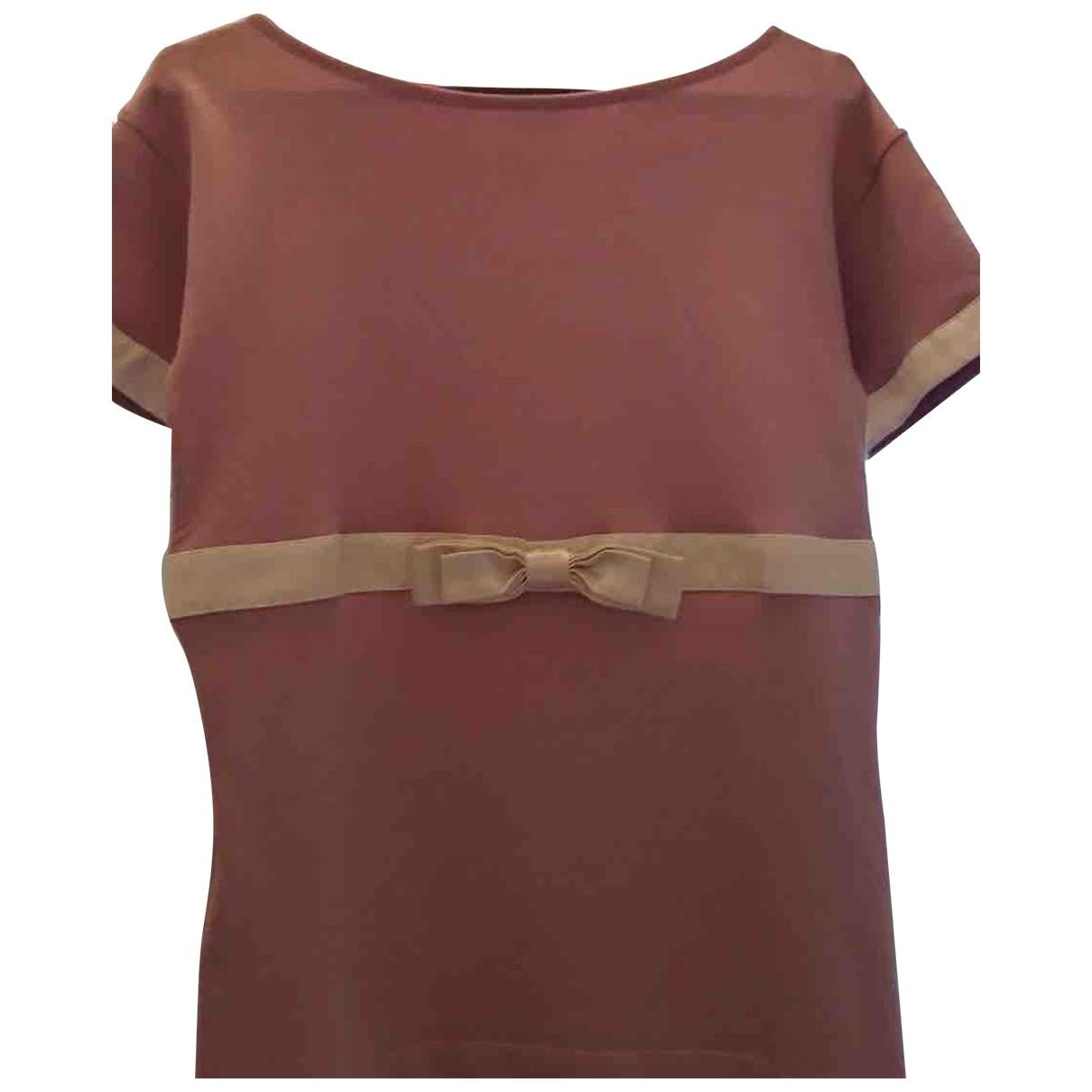 Anna Molinari - Top   pour femme en soie - rose