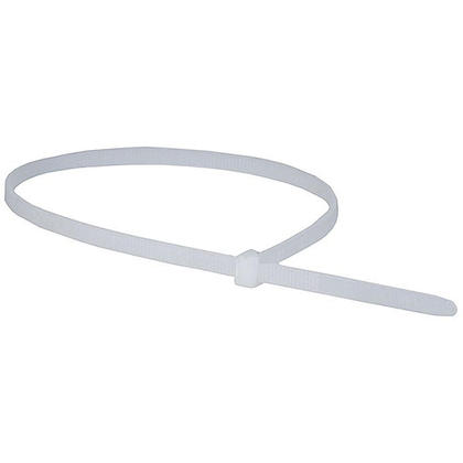 Monoprice® Cable Tie 14 inch 50lbs, 100pcs/Pack - White