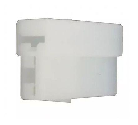 TE Connectivity 0.25 Series, 2 Way Nylon 66 Crimp Terminal Housing, 6.35mm Tab Size, Natural (50)