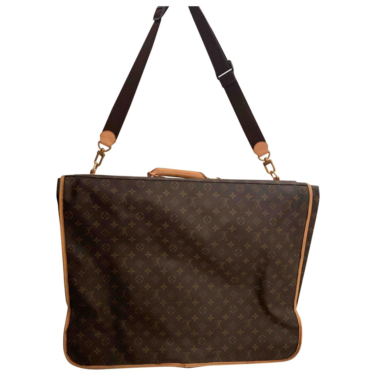 Louis Vuitton Garment Reisetasche in Leinen