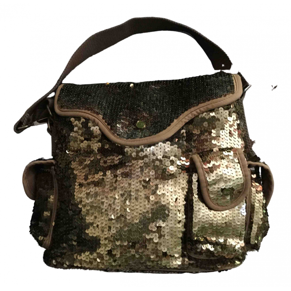 Sonia Rykiel \N Handtasche in  Gold Mit Pailletten
