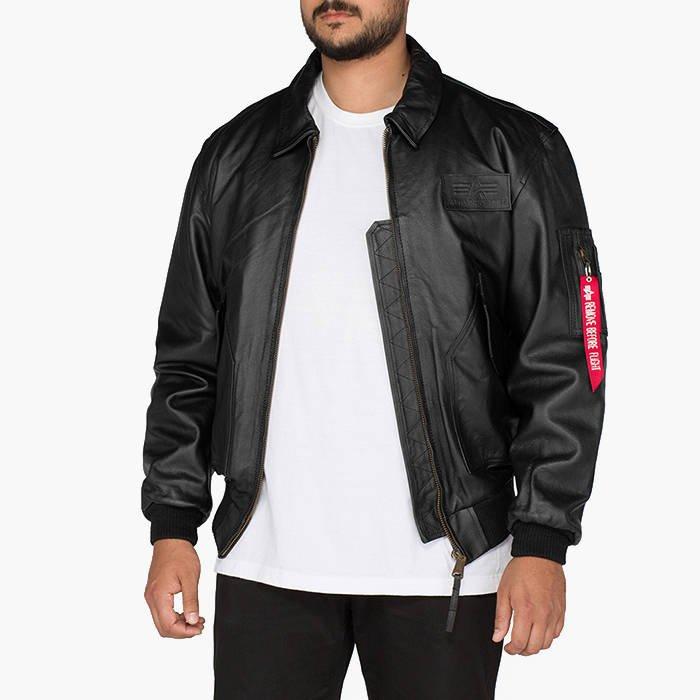 Alpha Industries Cwu Leather 100109 03