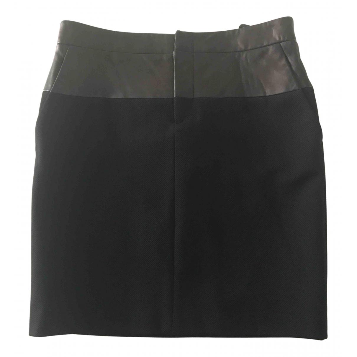Gucci - Jupe   pour femme en cuir - noir