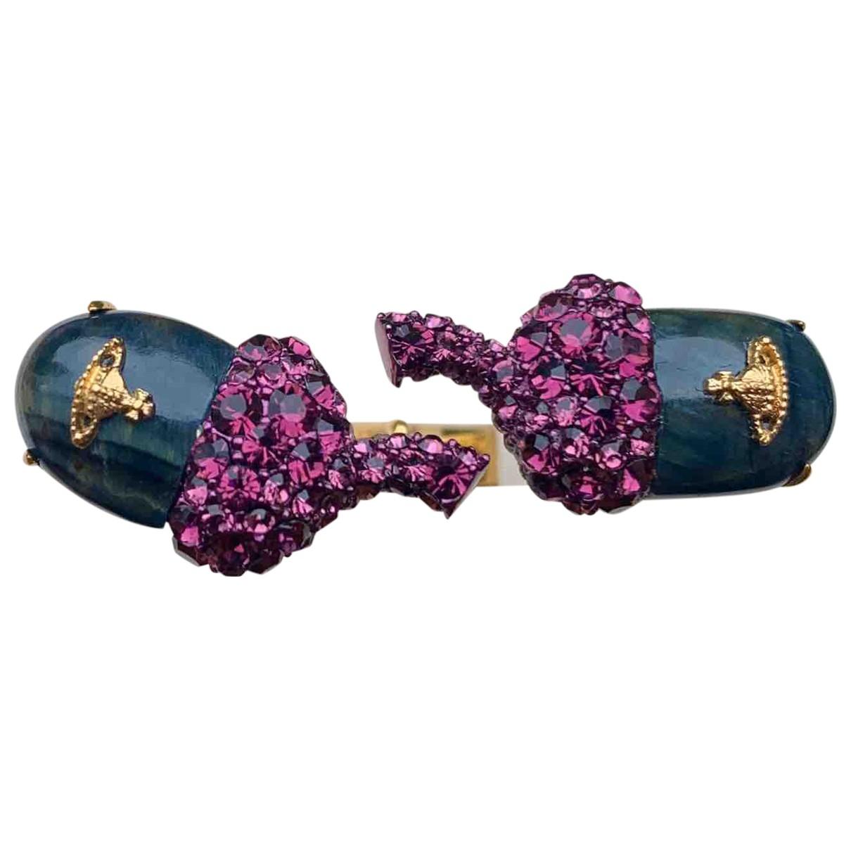 Vivienne Westwood - Bague   pour femme en argent - violet